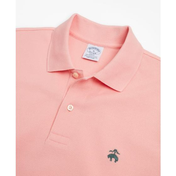 BROOKS BROTHERS Slim Fit Supima® Cotton Performance Polo Shirt 00132491-1