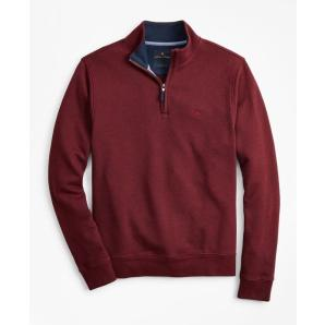 BROOKS BROTHERS French Terry Half-Zip 00145425