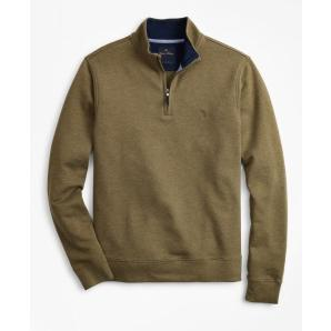 BROOKS BROTHERS French Terry Half-Zip 00145428