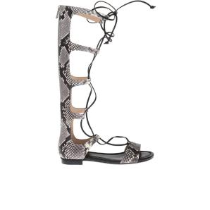 MICHAEL KORS KNEE-HIGH SANDALS 40S6SFFA1E