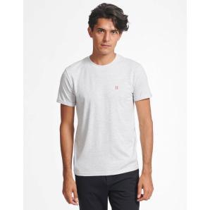 LES DEUX Nørregaard T-Shirt - Snow Melange