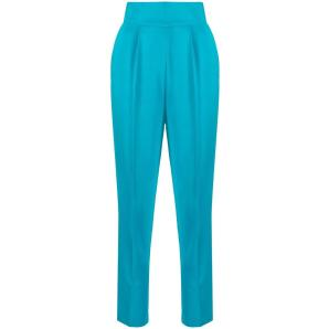 PINKO high-waisted cropped trousers 1G15P3