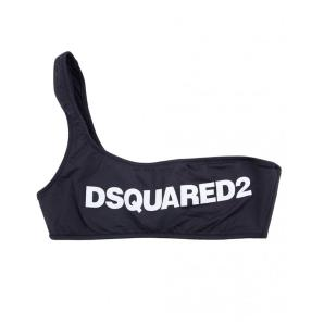 DSQUARED2 One-Shoulder Bikini Top D6BYA2600