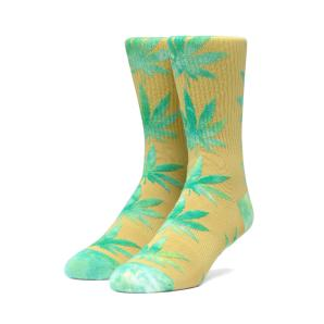 HUF Plantlife Tiedye Leaves Sock