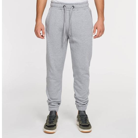 The Project Garments Regular Fit Cotton Sweatpants Melange Grey PGFW22SP5104CO-1