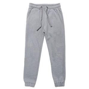 The project garments regular fit cotton sweatpants melange grey PGFW22SP5104CO