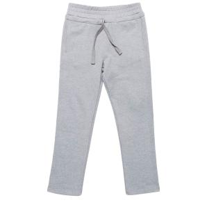 The project garments regular fit cotton drawstring sweatpants melange grey PGCO2ASP5103CO