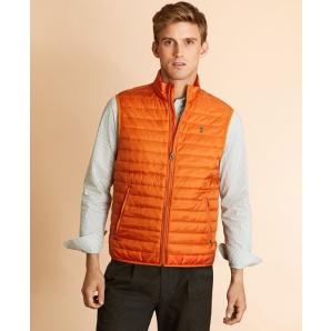 Brooks brothers water-resistant puffer vest 00143036