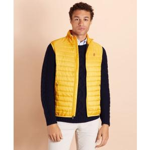 Brooks brothers water-resistant puffer vest 00142992