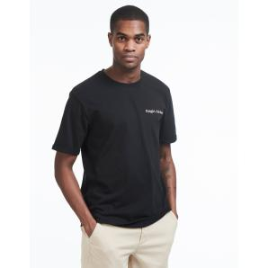 LES DEUX Haight T-Shirt - Black/Rose