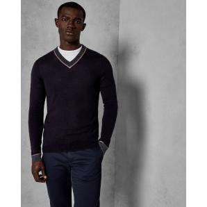 TED BAKER V NECK KNIT 148121