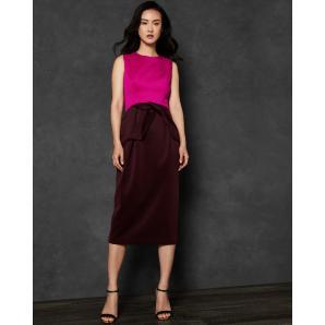 TED BAKER NIKKITA Tulip bow dress 147584