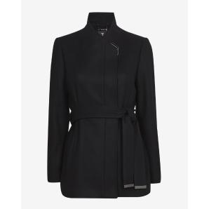 Ted baker short belted wool wrap coat 159937