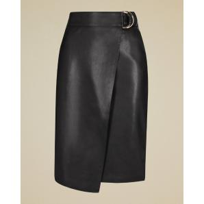 Ted baker faux leather wrap skirt 158826