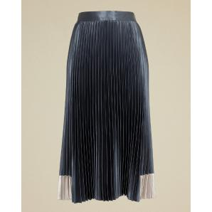 Ted baker contrast panel pleated midi skirt 158265