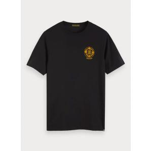 SCOTCH & SODA Printed Artwork T-Shirt 152289