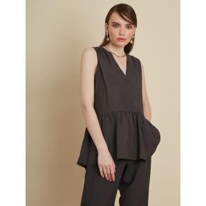BLACK & BLACK Linen Blend Shirt Top