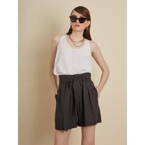 BLACK & BLACK Linen Blend Shorts
