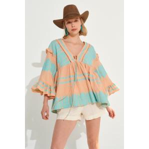 AUGUST kaftan blouse S21A6053
