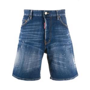 DSQUARED2 distressed denim shorts S74MU0587
