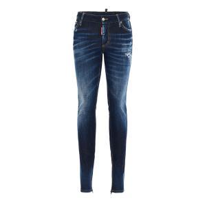 DSQUARED2 medium waist twiggy jeans S75LB0376