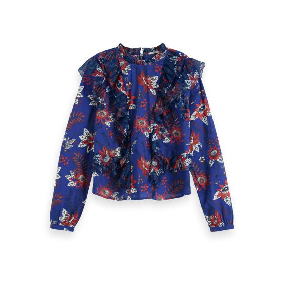 Scotch & soda floral blouse 153823-0