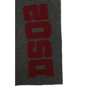 Dsquared2 knitted scarf logo KNM0011