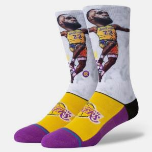 Stance LeBron James Big Head Men's Socks (A548A20LEB-MUL)