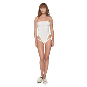NADIA RAPTI Strapless Onepiece Swimsuit