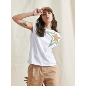 LIBELLOULA WHITE TOP WITH STAR 120-2-10-0000