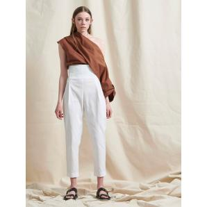 LIBELLOULA BROOKLYN PANTS WHITE 121-2-23-0005