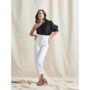 LIBELLOULA NEW YORK JEANS WHITE 121-2-23-0038