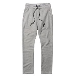 THE PROJECT GARMENTS Tapered Loose-Fit Organic Cotton Sweatpants Melange Grey PGCO19SP963CO