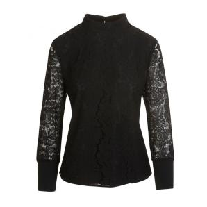 TED BAKER Lace high neck half sleeve top 147332