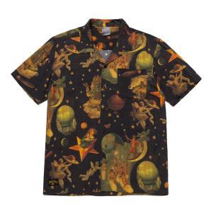 HUF tonight woven shirt BU00103