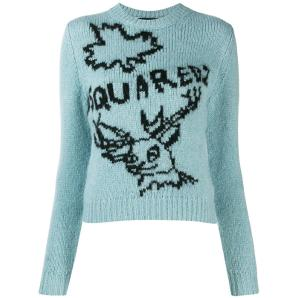Dsquared2 embroidered sweater S75HA0880S16791-961