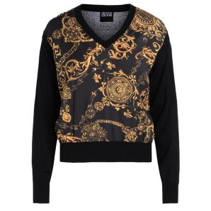 Versace Jeans Couture Sweater with Regalia Baroque print