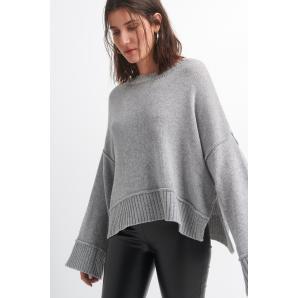 BLACK & BLACK knitted blouse W21B6048
