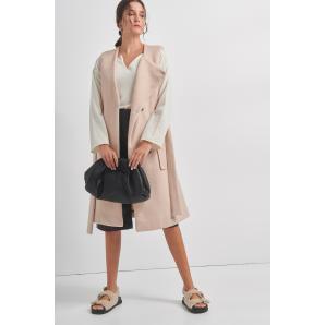 BLACK & BLACK vest coat W21B6095