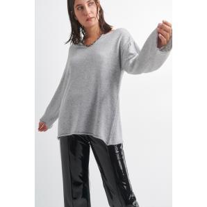 BLACK & BLACK knitted blouse W21B6098