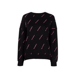 KARL LAGERFELD all over logo sweatshirt 215W1802
