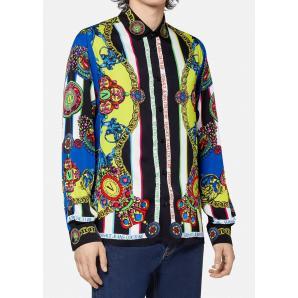 VERSACE viscose shirt with Regalia Baroque print 71GAL2R9