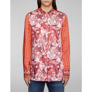 DONDUP Printed fabric shirt DC010 FF0306M