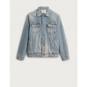 Dondup UJ648 Trucker jacket in denim used