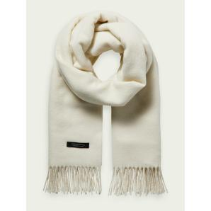 SCOTCH & SODA Unisex wool-blend fringe scarf 159346