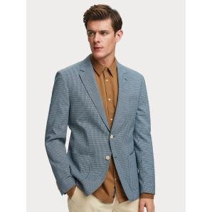 Scotch & Soda Yarn-Dyed Patterned Blazer