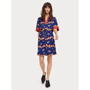 Scotch & Soda Satin Floral Print Dress 155972