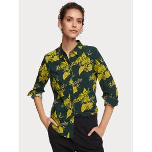 Scotch & Soda Floral Print Shirt 156032