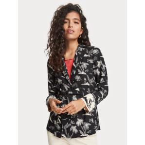 Scotch & Soda Printed Pyjama blazer