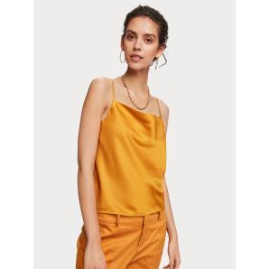 Scotch & Soda Cowl Neck Tank Top 156230